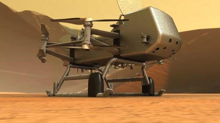 人类要往泰坦星派无人机,还是核动力的!