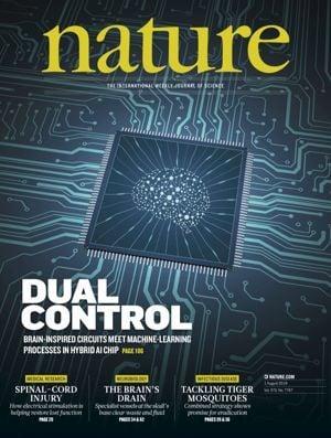 """""""天机""""今登Nature封面:清华施路平团队发布全球首款异构融合类脑芯片!"""