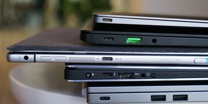 usb c laptops