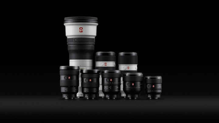 Sonys lineup of future proof ultra high quality GM lenses