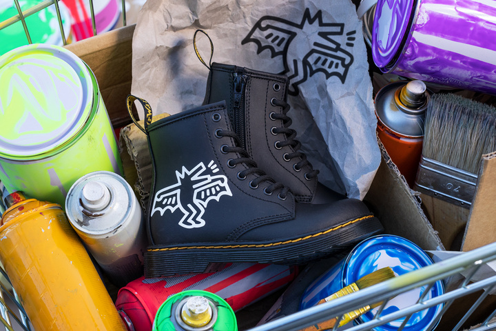 keith haring dr martens spring summer 2021 collaboration 1