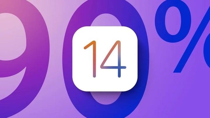 iOS 14 90 Percent Adoption Purple