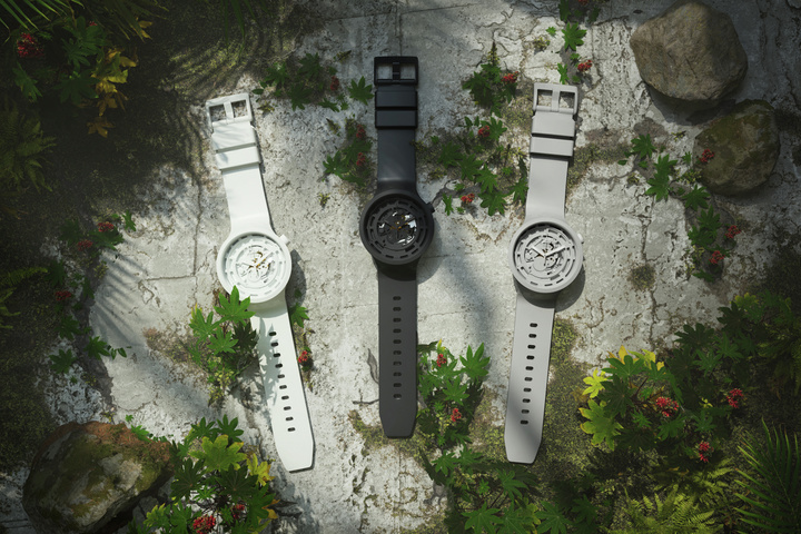 swatch introduces world first bioceramic five piece capsule collection 01